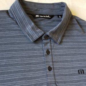 Travis Mathew Men's Blueish XL Polo Shirt